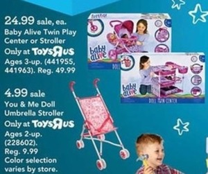 Baby Alive Doll Twins Play Center