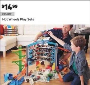Hot Wheels Play Sets