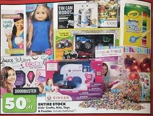 Entire Stock Kids' Crafts, Kits, Toys & Puzzles