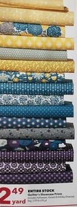 Quilter's Showcase Prints /Yard