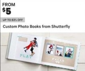 Shutterfly Custom Photo Books