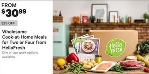 Wholesome Cook At Home Meals For Two Or Four From Hello Fresh