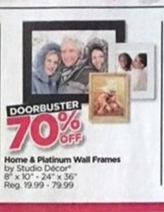 Home & Platinum Wall Frames