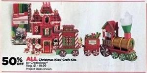 All Christmas Kids' Craft Kits