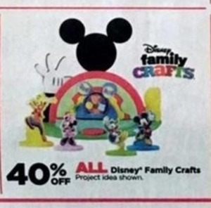 All Disney Family Crafts
