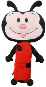 Seat Pets Red/Black Ladybug Car Seat Toy