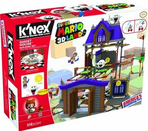 K'NEX Nintendo Super Mario 3D Land Ghost House Building Set