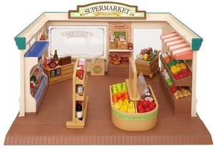 Calico Critters Supermarket Set