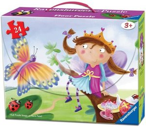 Princess Puzzle in a Suitcase Box