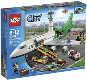 LEGO City Cargo Terminal Toy Building Set