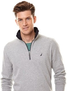 Nautica Men's 1/4 Zip Jacket