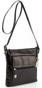 Giani Bernini Glazed Leather Crossbody Bags