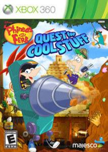 Phineas & Ferb Quest for Cool Stuff (Xbox 360)