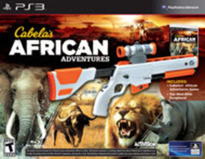 Cabela's African Adventures w/ Gun (PS3)