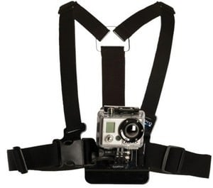 GoPro Chest Mount Camera Harness - Black