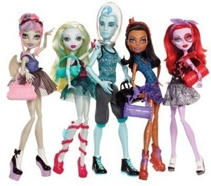 Monster High 5pk Dance Class After Coupon