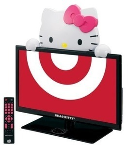 "Hello Kitty 19"" LED TV"