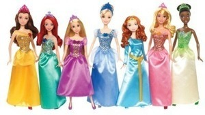 Disney Princess 7 Doll Pack- After Coupon