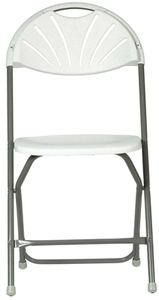 Living Accents Plastic Folding Chair