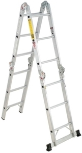 Werner 12-ft. Multi-Ladder with Card