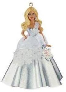 25th Anniversary Holiday Barbie Ornament