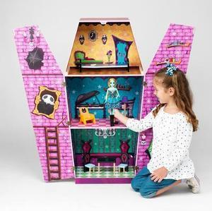 JUST DREAMZ Haunted Hall Wooden Dollhouse