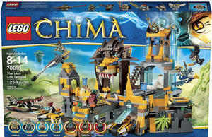 Lego Legends of Chima The Lion CHI Temple