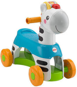 Fisher-Price Rollin' Tunes Ride-On Zebra
