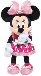 Minnie Bowtique Tickled Pink Plush