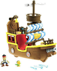 Jake and the Never Land Pirates Musial Pirate Ship Bucky