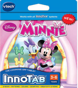 Minnie Mouse Bow-Tique VTech InnoTab Software