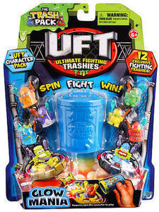 The Trash Pack Ultimate Fighting Trashies Glowmania - 12-Pack