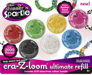 All Cra-Z-Loom Shimmer 'N Sparkle Kits & Refills