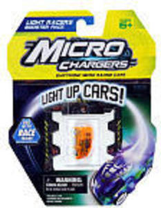 Micro Chargers Light Up LED Race Car Booster Packs