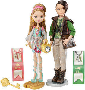 Ever After High Ashlynn Ella & Hunter Huntsman Doll