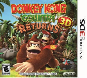 Donkey Kong Country Returns 3D (Nintendo DS)