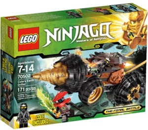 Lego Ninjago Cole's Earth Driller Play Set