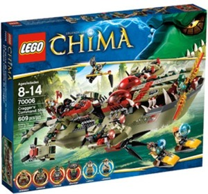 LEGO Chima Cragger's Command Ship