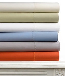 Martha Stewart Collection Tide Ridge 300 Thread Count Full Sheet Set