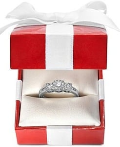 Prestige Unity Diamond Ring, 14k White Gold Diamond Engagement Ring (1/2 ct. t.w.)