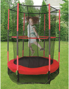 "Stats 55"" My First Trampoline w/ Safety Enclosure"