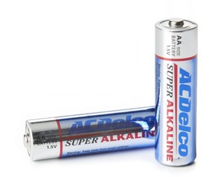 30 Pack AA or AAA Super Alkaline Batteries After Rebate
