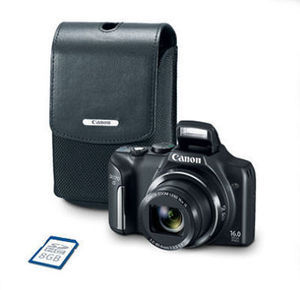 Canon PowerShot SX170 IS Bundle