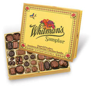 Russell Stover & Whitman's Sampler Chocolates w/ Card