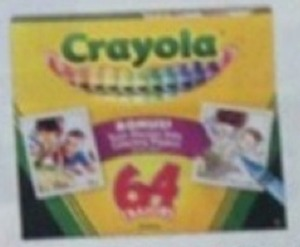 Crayola Crayons w/ Sharpener w/ Card