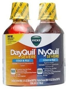 Vicks Synex Dayquil or Nyquil w/ 1K Points