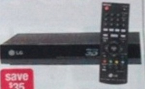 LG 3D Blu-ray Player w/ Card