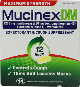 Mucinex 28 or 40-Count or Fast-Max 2-Pack w/ 3000 Points