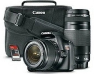 Canon T3 DSLR Bundle