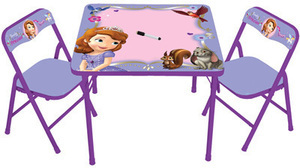 Disney Table & Chairs - Sofia the First
